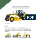Trabajo de rendimiento y consumo de combustible maquinaria amarilla