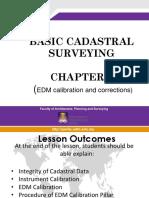 Chapter 3 - Edm Calibration
