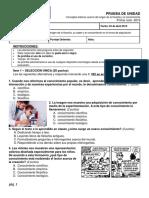 Prueba de Filosofía 01 - 1 ciclo.docx