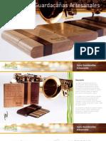 Catálogo-Lista de Precios Cajas Guardacañas Bambú