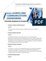 Wisdomjobs.com-Electronics and Communications Engineering Interview Questions