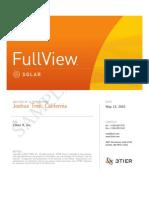 3TIER FullView Solar Site CVA Report Sample