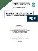 Rigor y Principios de La Inv.científica