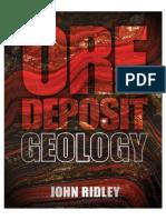 1_OreOre Deposit Geology [John Ridley, 2013]