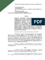 CORRESPONDENTES NÃO BANCÁRIOS. EXCLUIR DANOS MORAIS. RESTIUIÇÃO SIMPLES.doc