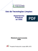 USO TECNOLOGIALIMPIA EJMP CHILE.doc
