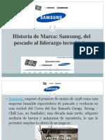 Historia de Marca Samsung