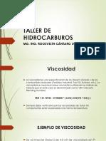 TALLER DE HIDROCARBUROS