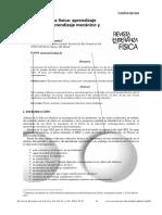 Moreira 2009 Aprendizaje Significativo de Las Ciencias Condiciones de Ocurrencia, Progresividad y Criticidad