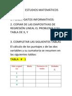 Formato La Realizar El Deber de Estudios Matemáticos