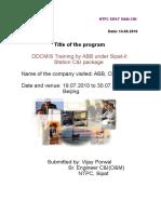 Vijay Learning Report-ABB