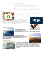 10 Ejemplos de Desarrollo Sustentable en El Mundo