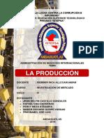 La Producción - Administracion