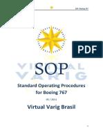 Standard Operating Procedures for Boeing 767