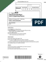 January 2017 (IAL) QP - Unit 3 Edexcel Physics A-level.pdf
