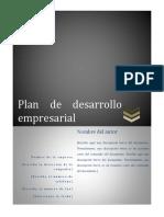 2.1 Formato Plan de Desarrollo Empresarial