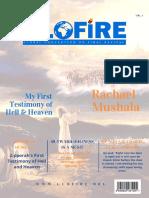 GLOFIRE Magazine, Vol. 001,  Issue No. 1, April 2019