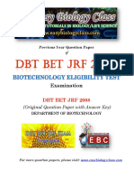 DBT JRF Papers 2008