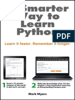 Mark Myers - A Smarter Way to Learn Python_ Learn it faster. Remember it longer..pdf