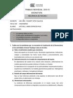 Trabajo Individual - Mecanica de Rocas Espinoza Rios Mitchell