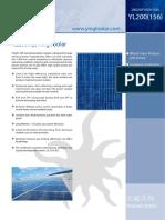 Ficha tecnica panel solar