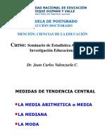 CLASE No2- Medida de Tendencia Central y Variabilidad-2019 I-Vala 1 1