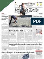 The Stanford Daily, Nov. 2, 2010