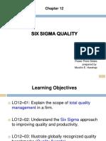 Week 8 - Ch12 Six Sigma Quality