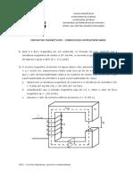 Circuitos Magneticos Exercicios Complementares