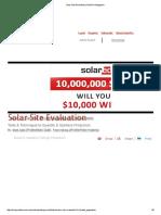 SolarPro_Solar Site Evaluation