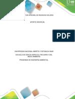 Aporte Individual - Gestion Integral de Residuos Solidos