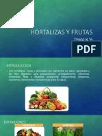 Hortalizas y Frutas