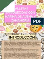 Galletas Enriquecidas Con Harina de Avena y Zanahoria