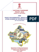 Rajasthan Township Policy