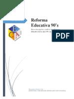 Reforma educativa de los 90's en México