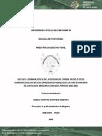 tesis uso de la criminalistica en la escena del crimen de homicidio.pdf