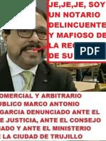 INTERPONEN DENUNCIA CONTRA NOTARIO CORROMPIDO  MIGUEL ANGEL PAJARES ALVA