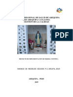 Proyecto Mejoramiento Residuos Solidos Arcata-2019