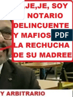 Declaran Compleja La Denuncia Penal Contra El Notario Delincuente Marco Corcuera Garcia