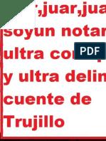 Amplian Denuncia Contra Notario Delincuente Alfonso de La Cruz Rios