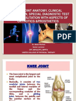 Workshop Ppt (Final) knee joint