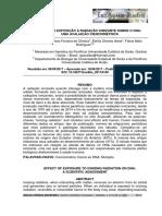 Efeito Da Exposiçao a Radiaçao Ionizante Sobre o Dna - Cienciometrica