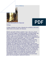 Elogio de La Milicia San Bernardo de Claraval