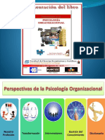 Presentación LIBRO Perspectivas  de la Psicología Organizacional