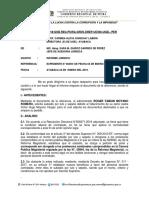 Informe de Roger Moyano Romero Contratado