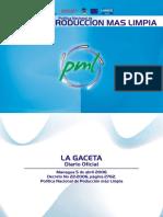 Politica Nicaraguense de Produccion Más Limpia