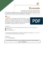 Bibliografía Economía 1 2019