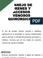 MANEJO DE DRENES Y CANALIZACIONES QUIRÚRGICAS.pptx