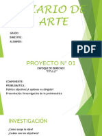 Ejemplo de Diario de Arte