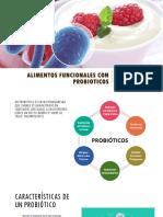 Alimentos funcionales con probioticos